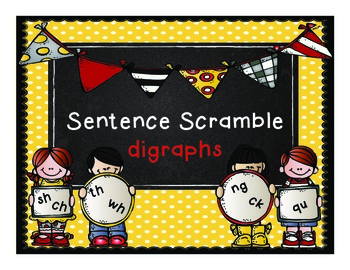 Sentence Scramble Digraphs