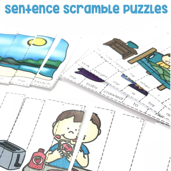 Sentence Scramble Puzzles