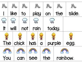 Sentence Scramble *Spring-themed Sentences to Unscramble*
