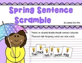 Sentence Scramble *Spring-themed Sentences to Unscramble*
