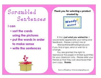Valentine's Day: A Sentence Scramble