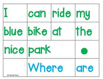 Sentence Scramble/ Word Order