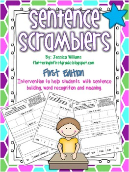 Sentence Scramblers {First Edition}