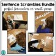 Sentence Scrambles Bundle (A whole year for your Writing Center!)