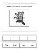 Sentence Scrambles Package 2