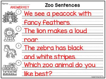 Sentence Scrambles: Sentence Building Activity {BUNDLE}