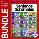 Sentence Scrambles: Sentence Building Activity {BUNDLE}