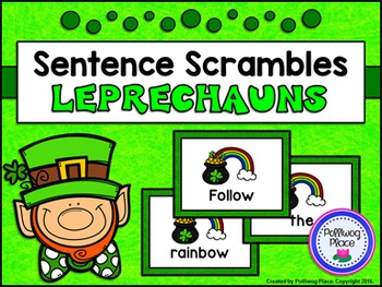 Sentence Scrambles: St. Patrick's Day Sentence Building Activity