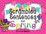 Spring Sentence Scrambles for ActivInspire