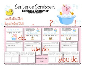 Sentence Scrubbers Editing & Grammar for Little Learners