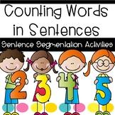 Sentence Segmentation Activities