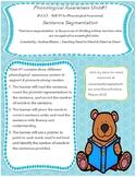 Sentence Segmentation P.A.S.T Phonological Assessment Activity 1