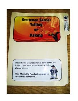 Sentence Sense #1: File Folder