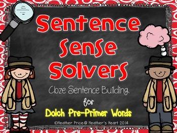 Sentence Sense Solvers: Cloze Sentence Building for Dolch Pre-Primer Words