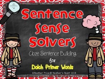 Sentence Sense Solvers: Cloze Sentence Building for Dolch Primer Words