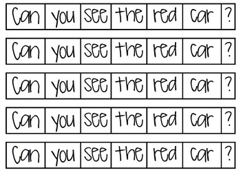 Sentence Sequencing