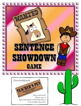 Sentence Showdown Game (Declarative, Interrogative, Imperative, Exclamatory)