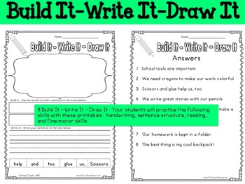 2nd Grade Reading Fluency Activity School Tools