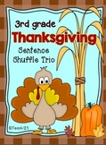 Reading Fluency Activity Thanksgiving