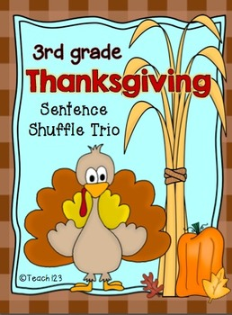Reading Fluency Activity Thanksgiving