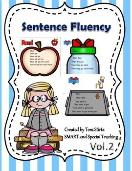 Sentence Sight Word Trees V.2 -Fluency for Struggling Readers (Dyslexia &RTI)