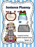 Sentence Sight Word Trees V.2 -Fluency for Struggling Read