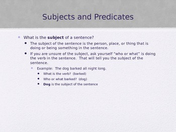 Sentence Skills State Test Review (editable)
