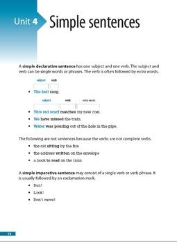Sentence Skills – Writing Interesting and Meaningful Sentences (Book 1)