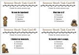 Sentence Sleuth Task Cards