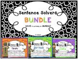 Sentence Solvers~ BUNDLE~ Interactive Sentence Building Ac