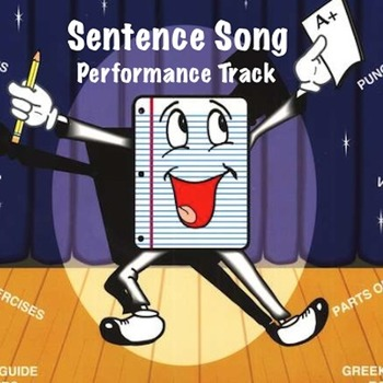 """Sentence Song"" MP3 Performance Track from ""Grammar Songs"" by Kathy Troxel"