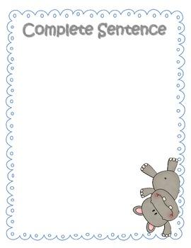 Sentence Sort