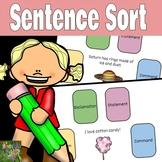 Sentence Sort-Boom Cards