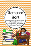 Sentence Sort: Declarative, Interrogative, Exclamatory