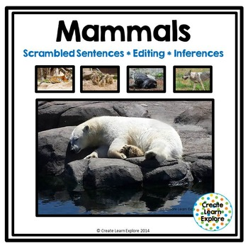 Sentence Scrambles, Editing and Inferences with Zoo Animals