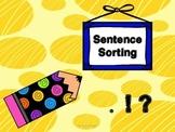 Sentence Sorting Game