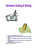Sentence Sorting and Writing