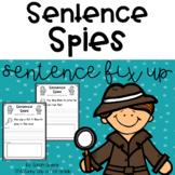 Sentence Spies (sentence fix up)