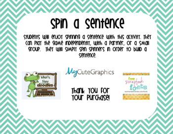 Sentence Spinner