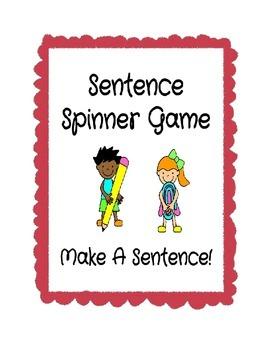 Sentence Spinner Game