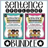 Sentence Spotlight {A Collection of Mentor Sentences} BUNDLE