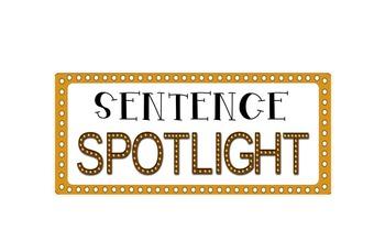 Sentence Spotlight Heading