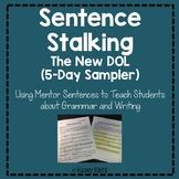 Sentence Stalking: Five-Day Sample