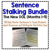 Sentence Stalking: The New DOL {9 Months of Instruction BUNDLE}