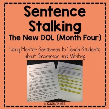 Sentence Stalking: The New DOL (Month Four)