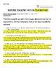 Sentence Stalking: The New DOL Months 1-3 {Mini BUNDLE}