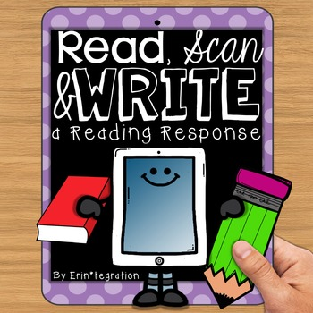 QR Code Task Cards for Reading Response & Discussion