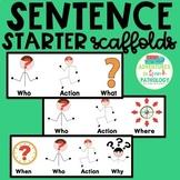Sentence Starter Scaffolds