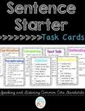 Sentence Starter Task Cards / Sentence Frames