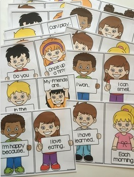 Sentence Starters - 50 prompts -
